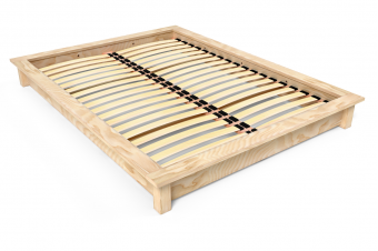 Lit futon Solido bois Massif - 2 places