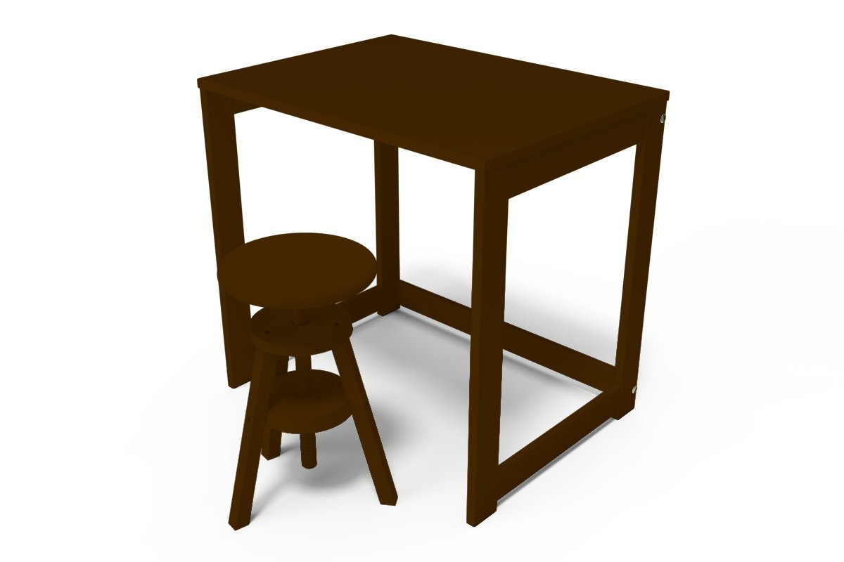 bureau alban en bois massif abc meubles. Black Bedroom Furniture Sets. Home Design Ideas