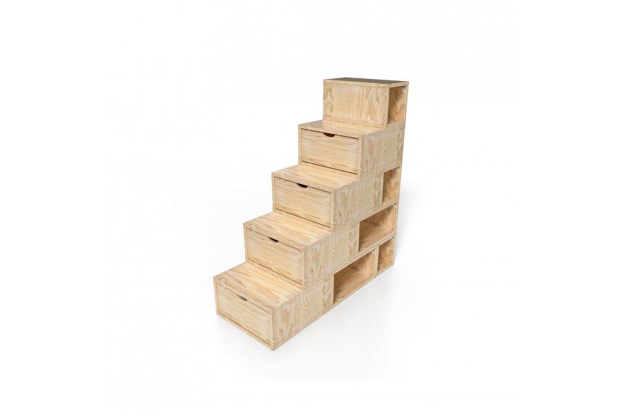 Escalier Cube 125cm