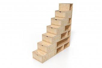 Escalera cubo para guardar cosas 175 cm