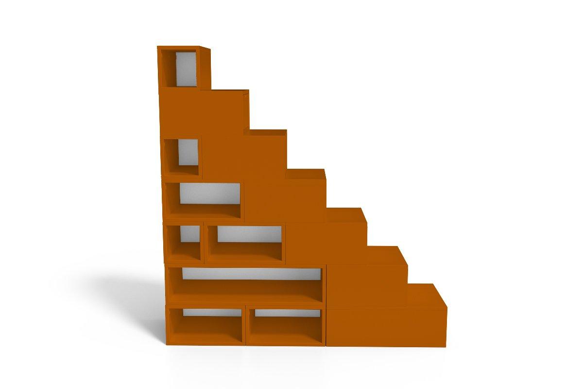 escalier cube de rangement hauteur 175 cm abc meubles. Black Bedroom Furniture Sets. Home Design Ideas
