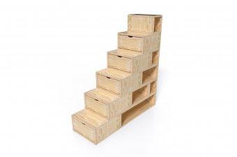 Escalier Cube 150cm