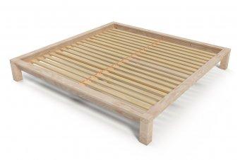 lit adulte bois massif vernis cologique made france abc meubles. Black Bedroom Furniture Sets. Home Design Ideas