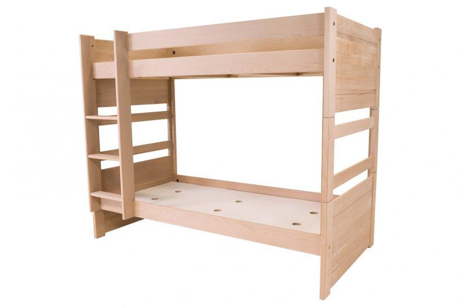 Bunk bed DUO in beech