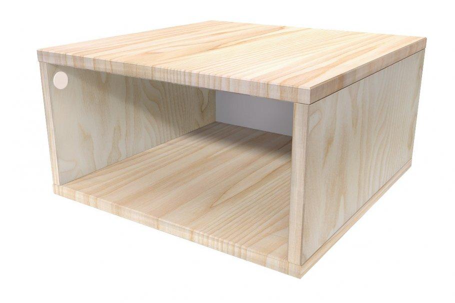Cube De Rangement Bois Largeur 50 Cm Abc Meubles