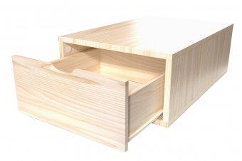 Cube 75x50cm + tiroir