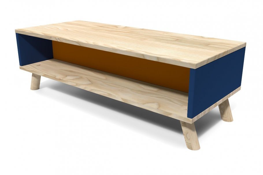 Table Basse Viking rectangulaire Scandinave bois