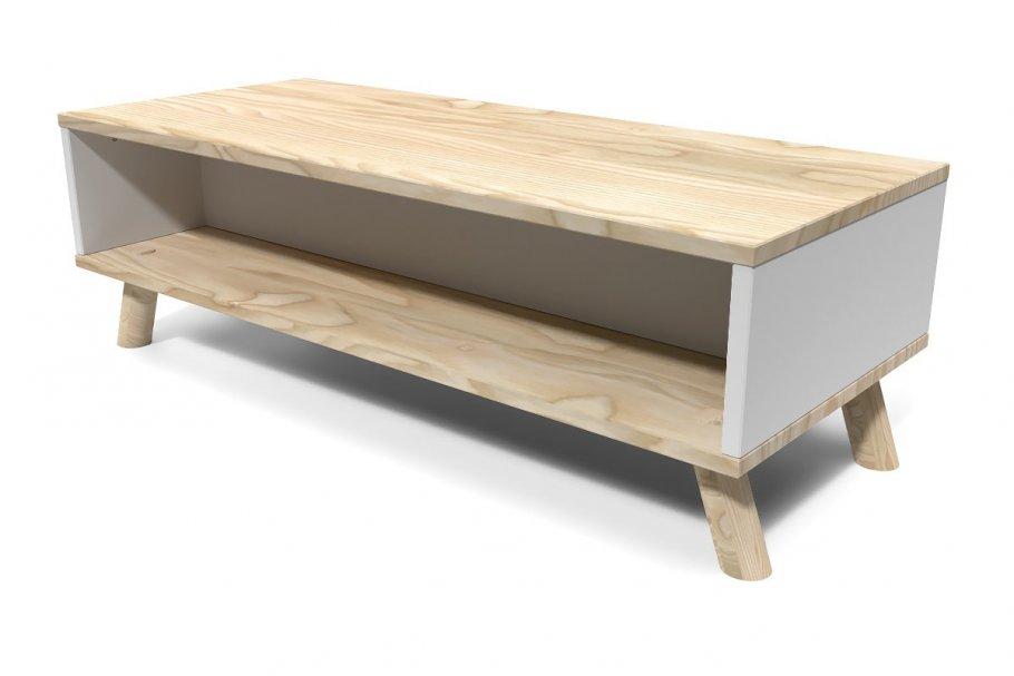 Table Basse Viking rectangulaire Scandinave bois