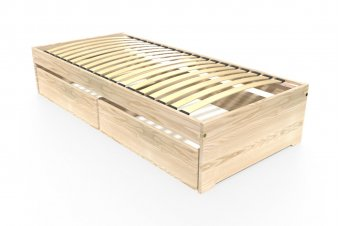 Single bed Malo 90x190 cm + drawers