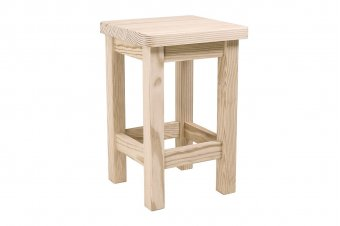 Sgabello in legno destro made in france