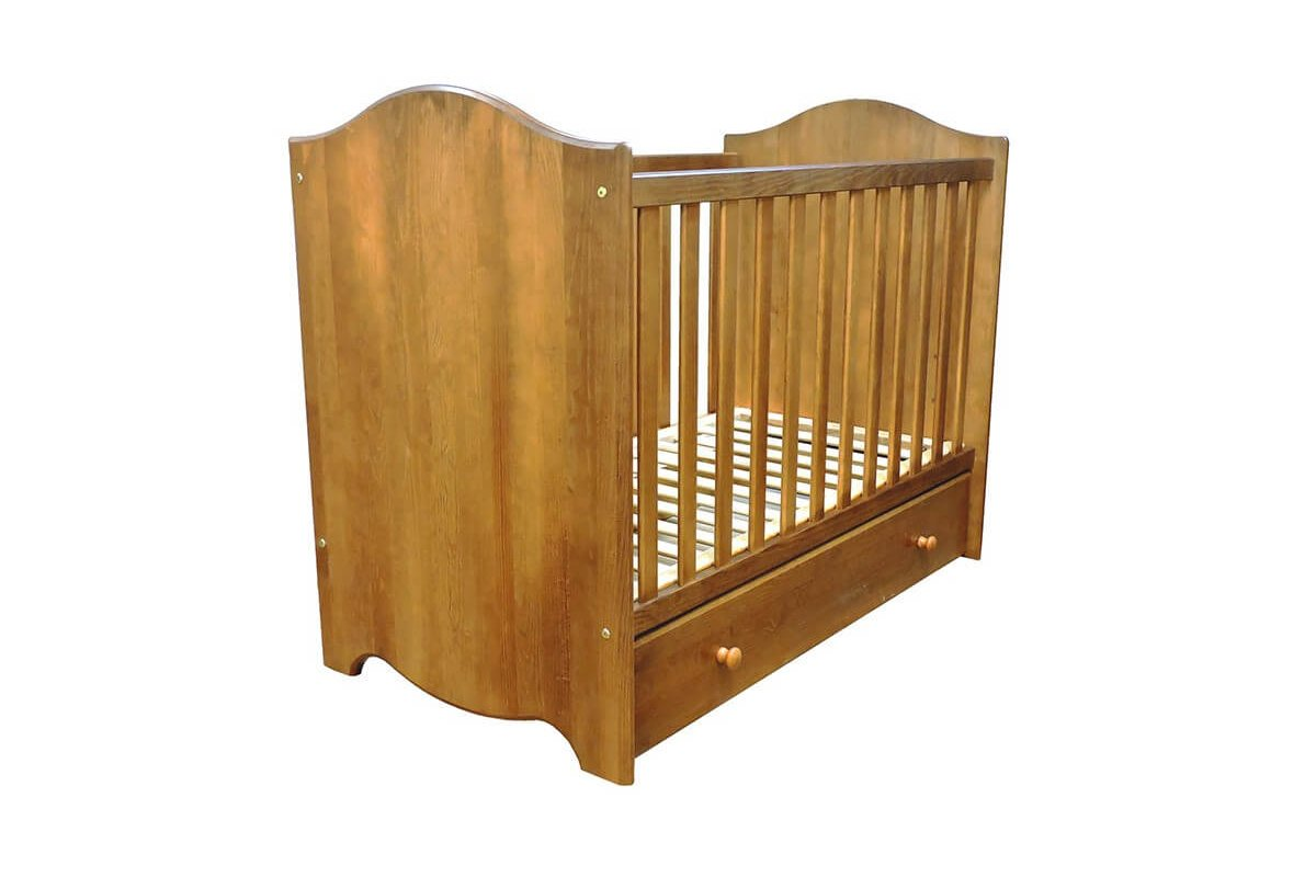 Culla per bambini coquille miele abc meubles