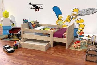 Lit évolutif enfant avec tiroir bois