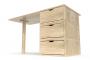 Ufficio cubo con 3 cassetti
