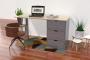 Büro boxen mit 3 Schubladen