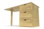 Cube desk 3 drawers