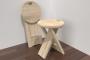 Sgabello pieghevole in legno