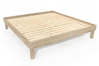 Bed 180x200 solid wood Comfort
