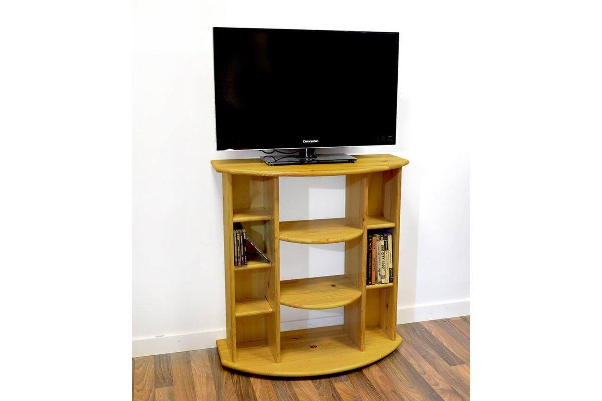 Meuble tv hifi bois abc meubles for Meuble hifi bois