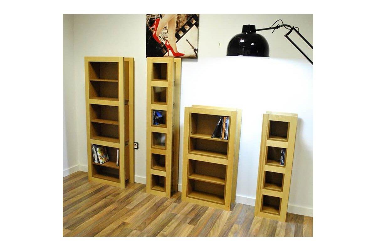 etagère range cd rangement 210 cds - abc meubles