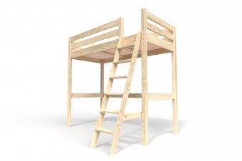 Sylvia Mezzanine Bed with ladder