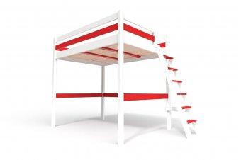 Sylvia & échelle - Blanc/Rouge