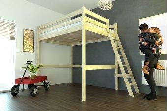 Lit mezzanine Sylvia avec échelle