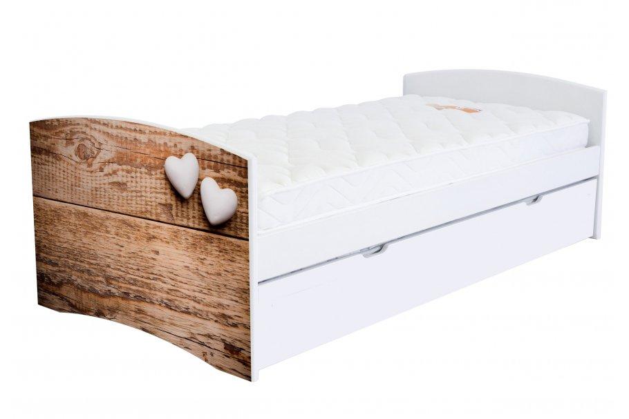 Panchina letto cicogna Happy 90x190 cm