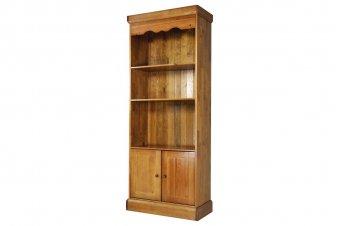 Bibliothèque bois large 2 portes