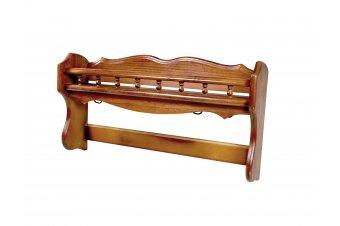 Porta cacerolas de madera labrada