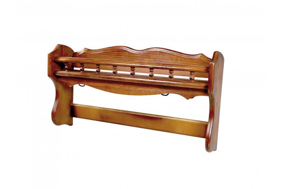 Porte casseroles balustres bois