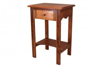 Wooden Entrance hall table + drawer