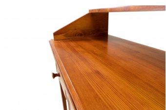 Console Hall bois avec top et 2 tiroirs