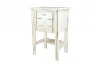 Tisch Eingangsbereich Holz + 3 Schubladen Tanne
