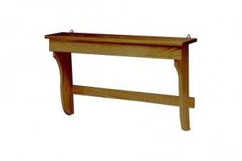 Wooden pan holder