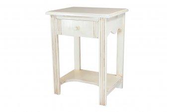 Table Basse bois + 1 tiroir