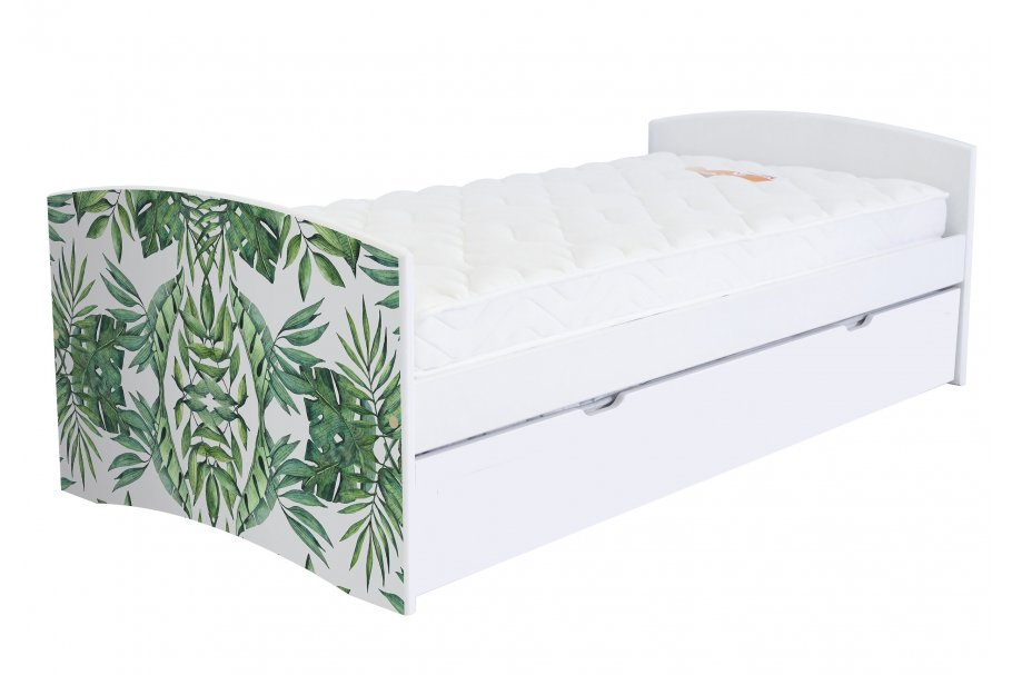 Letto Panchina Happy 90x190 cm legno e arredamento