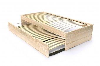 Kinderbett MAËL mit Staubox Holz