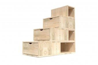 Escalier Cube de rangement hauteur 100 cm