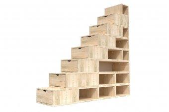 Treppenregal 200 cm