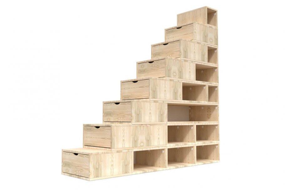 BLOCK STORAGE STAIRCASE 200