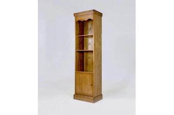 Bibliothèque Bois avec 3 tablettes + 1 porte