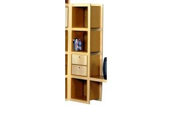 4 cubic shelves Square