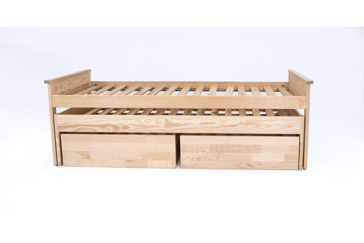 Cama nido 90x200 cm cajones 2 colchones abc meubles - Cama nido cajones ...