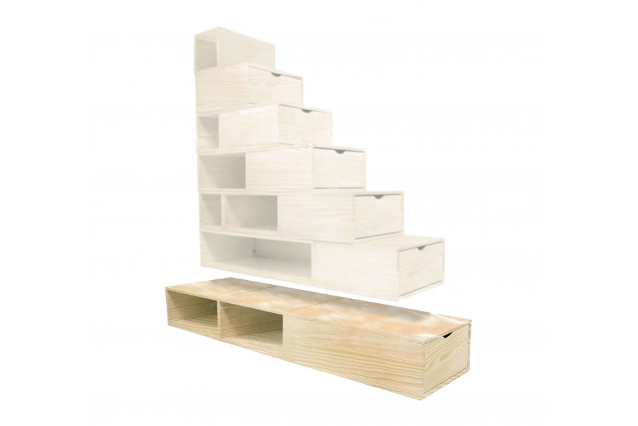 Option Enhanced Block Storage Staircase