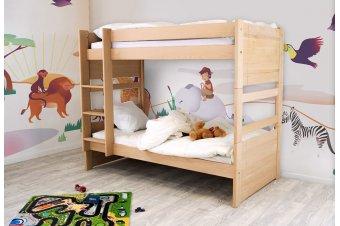 Letto a castello in legno, Adulto e Bambino Francia - ABC Meubles