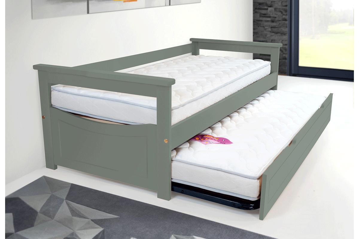 Letto estraibile topaze pino massiccio abc meubles for Letto estraibile prezzi
