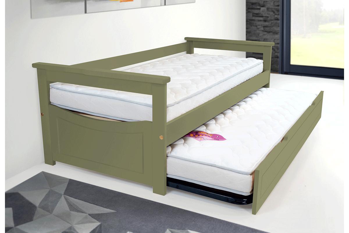 letto estraibile topaze pino massiccio abc meubles. Black Bedroom Furniture Sets. Home Design Ideas