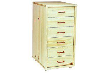 Wooden drawer block