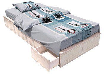Schlafzimmer Stauboxen