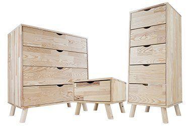 Muebles de dormitorio escandinavos